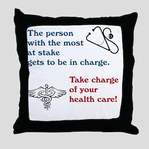 10x10TakeCharge Throw Pillow