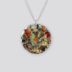 Paul Klee: Two Country House Necklace Circle Charm