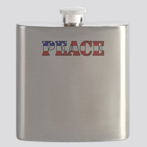 peace b52 dark Flask