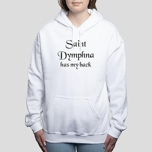 saint dymphna Women's Hooded Sweatshirt