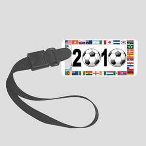 world cup b Small Luggage Tag
