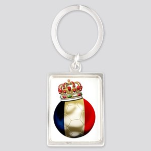 France World Cup7 Portrait Keychain