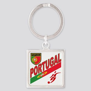 2-portugal a Square Keychain