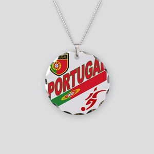 2-portugal a Necklace Circle Charm