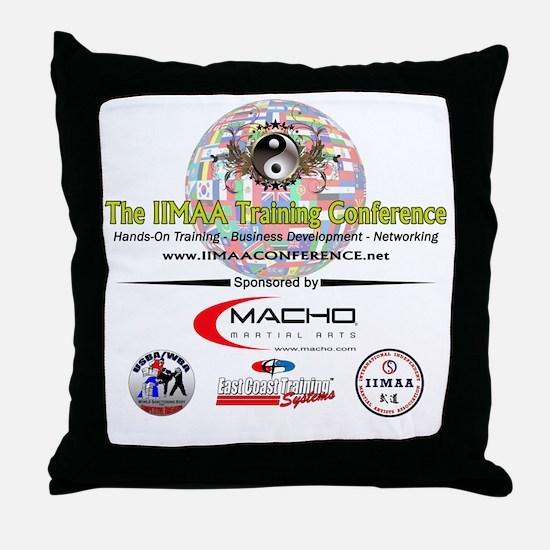 IIMAA_Conference_transparent3 Throw Pillow