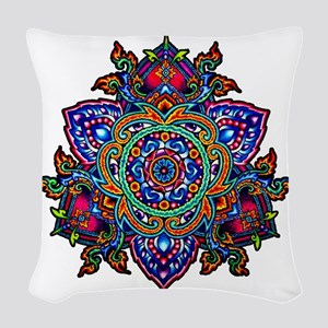 CP_Thai triandala Woven Throw Pillow