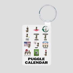 FIN-puggle-VERTCAL-cover Aluminum Photo Keychain