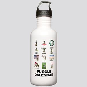 FIN-puggle-VERTCAL-cov Stainless Water Bottle 1.0L