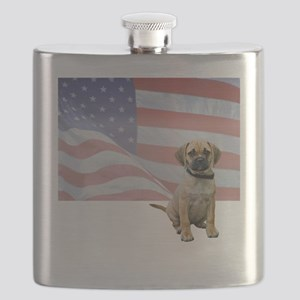 FIN-puggle-patriotic2-WonB Flask