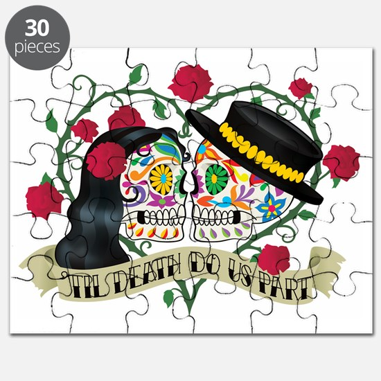 Day Of The Dead Wedding Puzzle