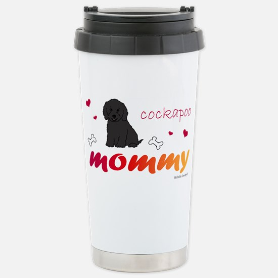 CockapooBlkMommy Stainless Steel Travel Mug