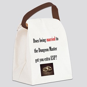 2-Married to DM Canvas Lunch Bag