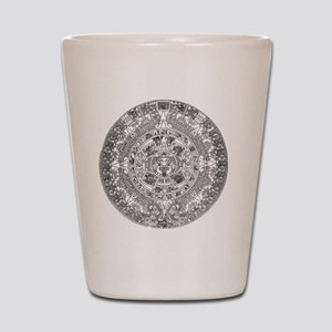 aztec b Shot Glass