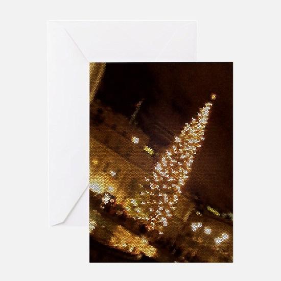 Christmas in Trafalgar Square Greeting Card