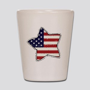 flag Shot Glass