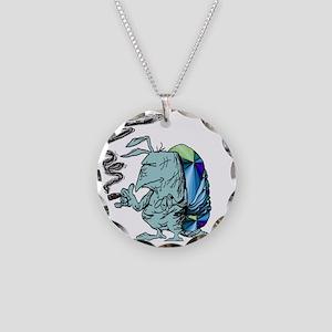 lamar madillo (2) Necklace Circle Charm