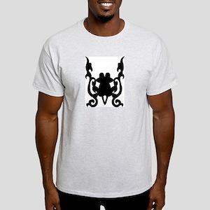 Tribal Frog Ash Grey T-Shirt