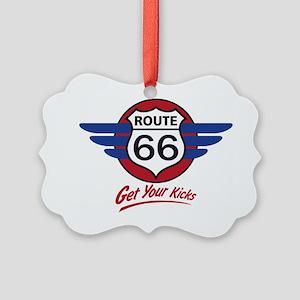 Route 66 Picture Ornament