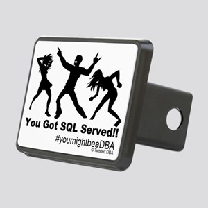 YouGotServed Rectangular Hitch Cover