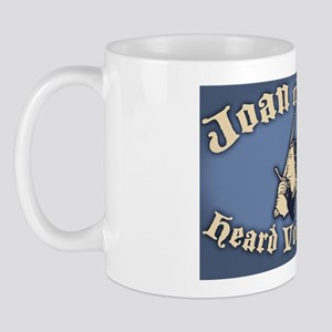 Joan-arc-voices-OV Mug