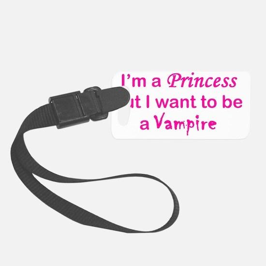 Princess Vampire Luggage Tag
