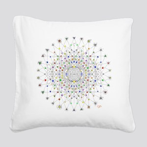 2-E82 Square Canvas Pillow