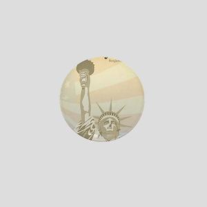 Franklin_Liberty Mini Button