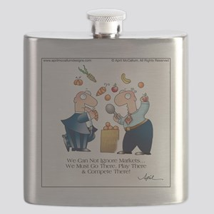 MARKET PLAY by April McCallum Flask