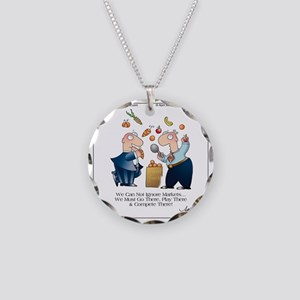 MARKET PLAY by April McCallu Necklace Circle Charm