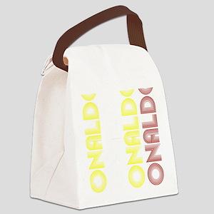 Ronaldo Canvas Lunch Bag