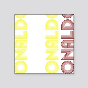 "Ronaldo Square Sticker 3"" x 3"""
