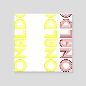 """Ronaldo Square Sticker 3"""" x 3"""""""