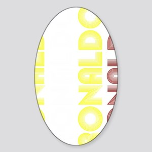 Ronaldo Sticker (Oval)