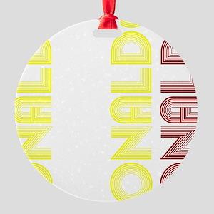 Ronaldo Round Ornament