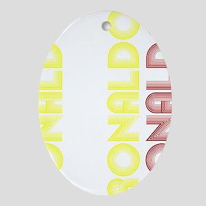 Ronaldo Oval Ornament
