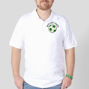 soccer2-green Golf Shirt