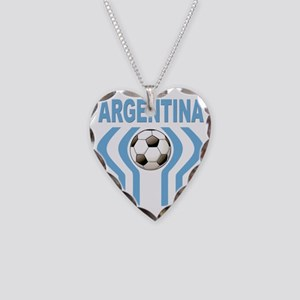 argentina a Necklace Heart Charm
