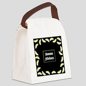 BananaStickersBox Canvas Lunch Bag