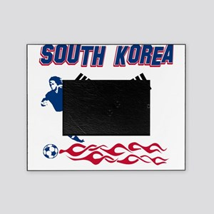 Soccer flag designs Picture Frame