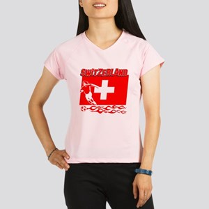 Soccer flag designs Performance Dry T-Shirt