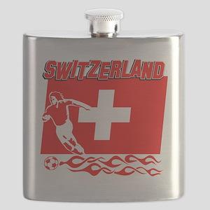 Soccer flag designs Flask