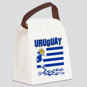 uruguay1 Canvas Lunch Bag