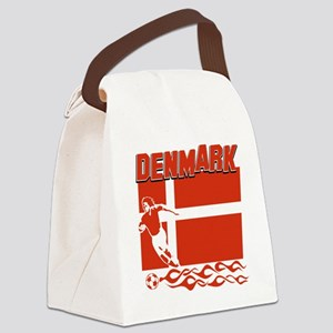 soccer player designs Canvas Lunch Bag