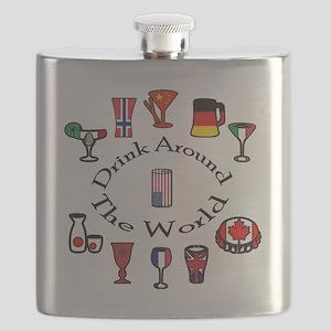 DrinkAroundTheWorld Flask