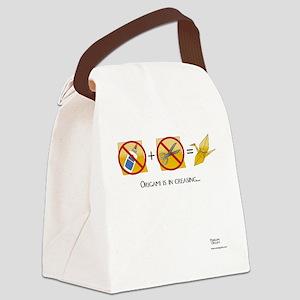 NoScissorsNoGlue Canvas Lunch Bag
