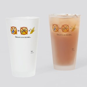 NoScissorsNoGlue Drinking Glass
