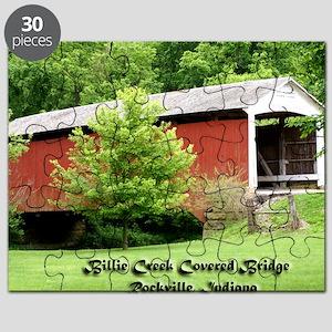 Billie Creek Covered Bridge Puzzle