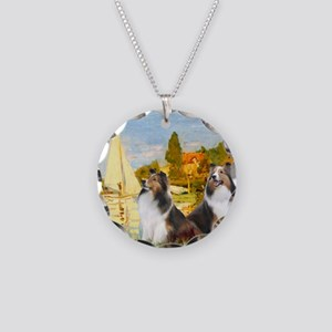 MP-Regatta - 2 Shelties (D&L Necklace Circle Charm