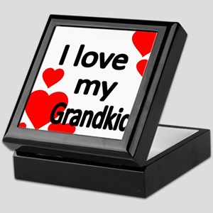 I LOVE MY GRANDKIDS Keepsake Box