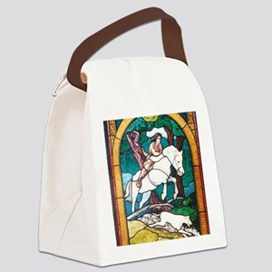 Young King Arthur Canvas Lunch Bag
